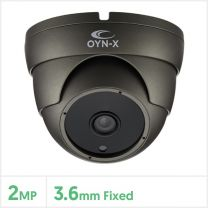 2MP 4-in-1 Fixed Lens Turret Camera with 24pcs (Grey), 4X-TUR-FG24