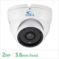 2MP 4-in-1 Fixed Lens Turret Camera with 24pcs (White), 4X-TUR-FW24