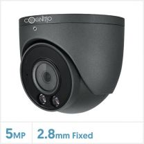 Cognitio 5MP Full-Colour Fixed Lens Big Turret with Audio (Grey), COL5-TUR-A-FG2