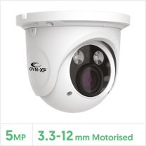 Falcon 5MP IP Network Dome Camera with Audio (White), FALCMEYE-5-VW