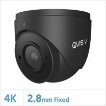 4K/8MP Viper IP GM Series Fixed Lens Turret Camera with Audio (Grey), TURVIP4K-FG-A-GM