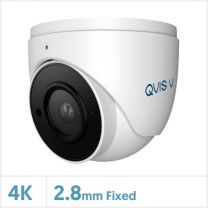4K/8MP Viper IP GM Series Fixed Lens Turret Camera with Audio (White), TURVIP4K-FW-A-GM