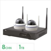 Oyn-X CCTV Kit- 8 Channel 1TB NVR with 2 x Dome Cameras, WIFIKIT-8-DOME-1TB